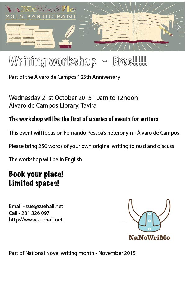 Poster for writing workshop