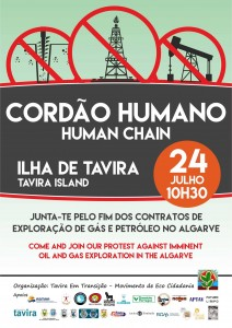 Ilha Tavira fracking demo